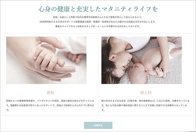 birth 診療科目