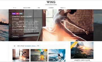 WING(AFFINGER5)使用例